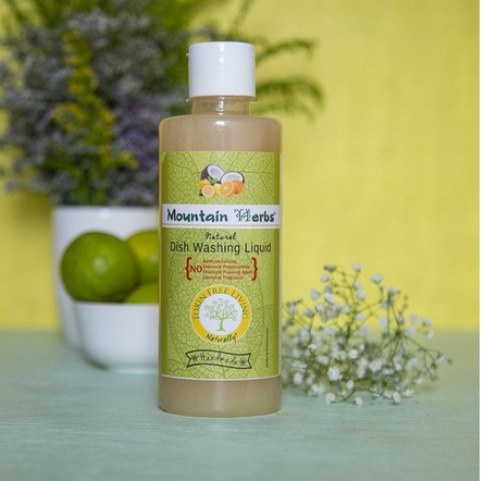 Natural Handmade Dish Washing Liquid 300 ml