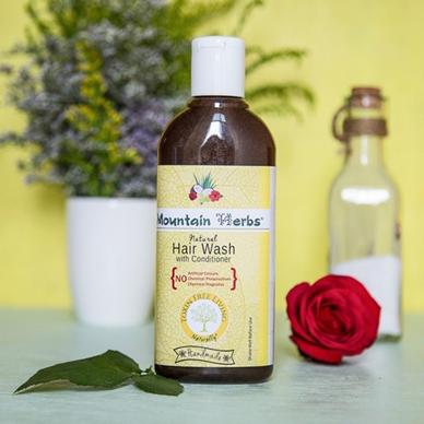 Natural handmade Hair wash 300 ml
