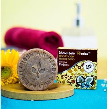 Natural soap – Parijata (pack of 6 soaps , 90 grams each)