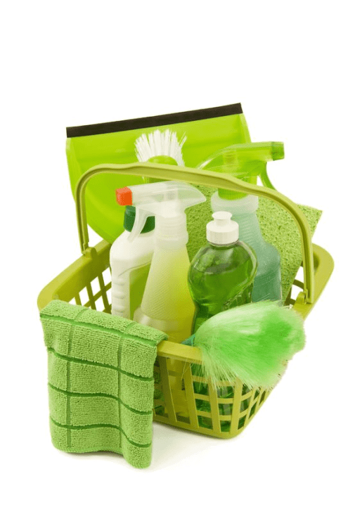 Safe and effective organic cleaning products from house hold items